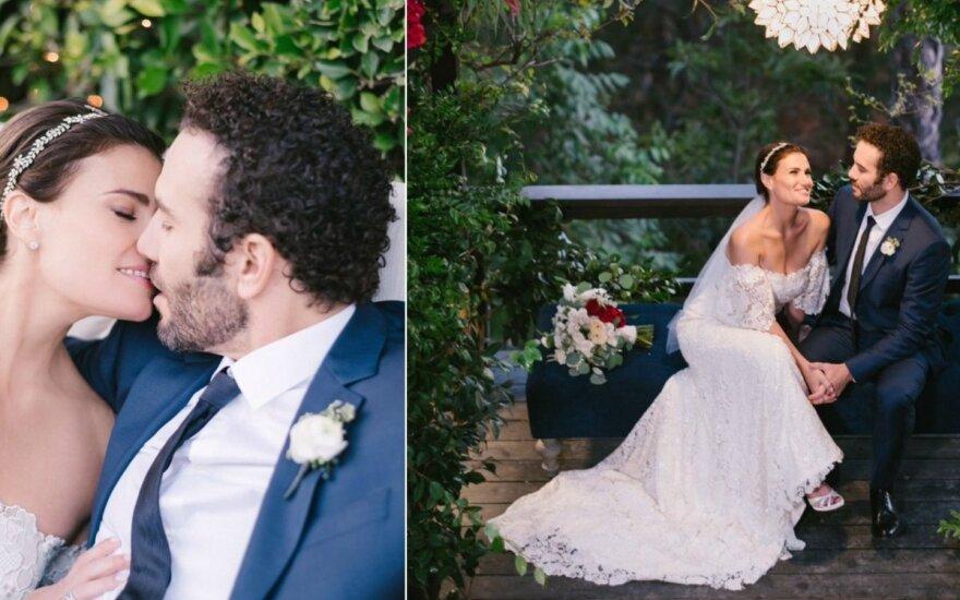 Idinos Menzel vestuvių akimirkos