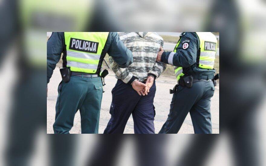 Kretingos rajono policininkai futbolininką areštavo tiesiog aikštėje