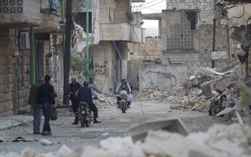 Žiniasklaida: mūšio lauke Sirijoje kaupiasi Rusijos nesėkmės