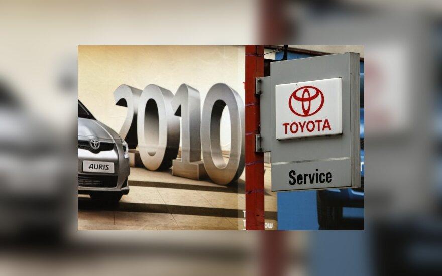 """Apie greičio pedalo bėdas """"Toyota"""" žinojo dar 2007 m.?"""