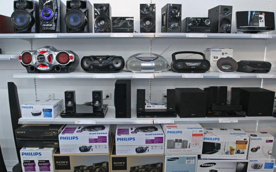Bus vertinama Lietuvoje parduodamų elektrotechnikos prekių kokybė