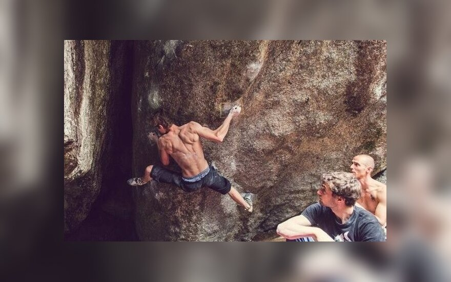 Two Lithuanians tried their hand at the World Climbing Cup in Munich