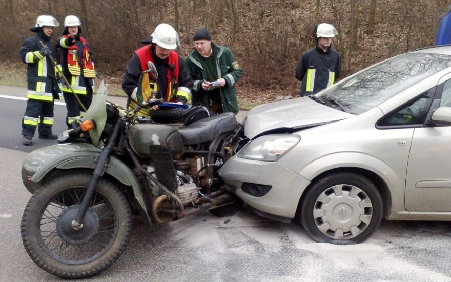 Žiemos kelionės motociklu