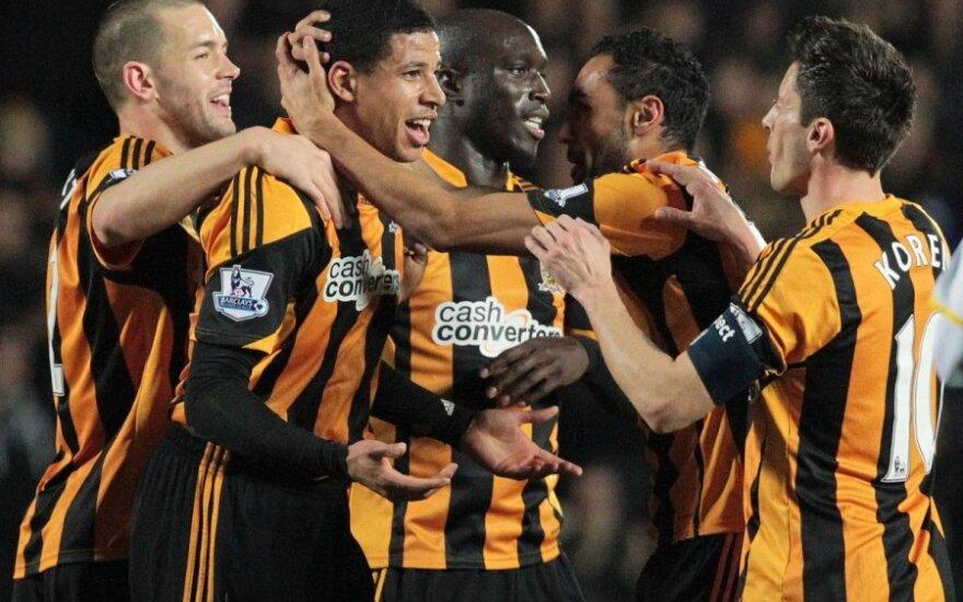 """""""Hull """"futbolininkai džiaugiasi"""