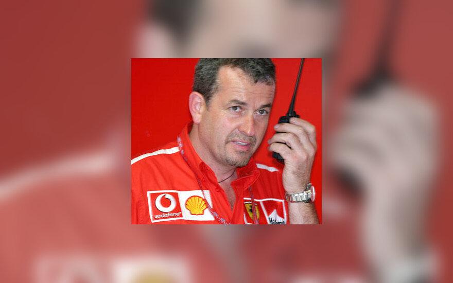 "Nigel Stepney (""Ferrari"")"