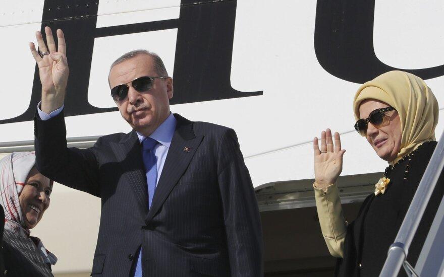 Recepas Tayyipas Erdoganas, Emine Erdogan