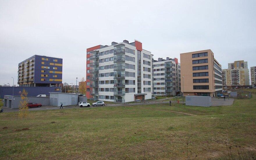 Naujas projektas: reklamavo jaukius butus, bet jie skirti ne gyventi