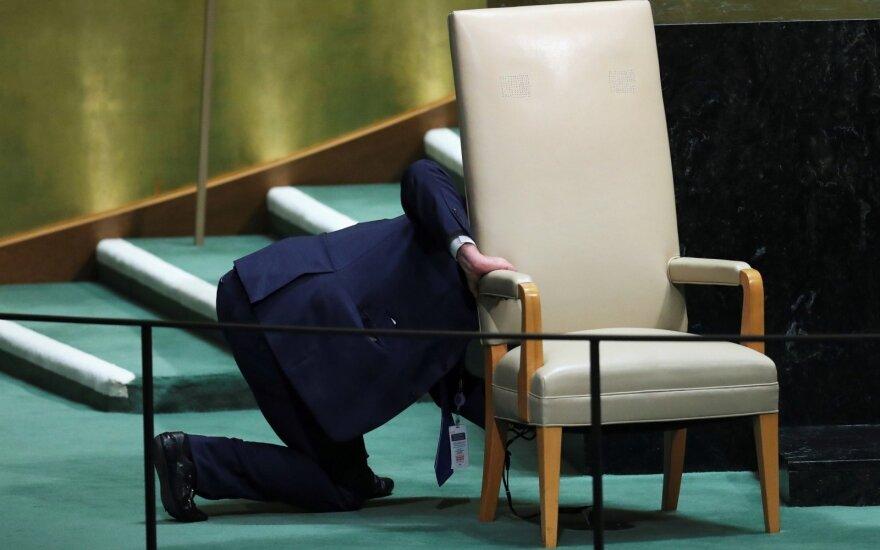 Tamsioji pasaulio lyderių susitikimo pusė: kai kurie savo tikrųjų tikslų net neslepia