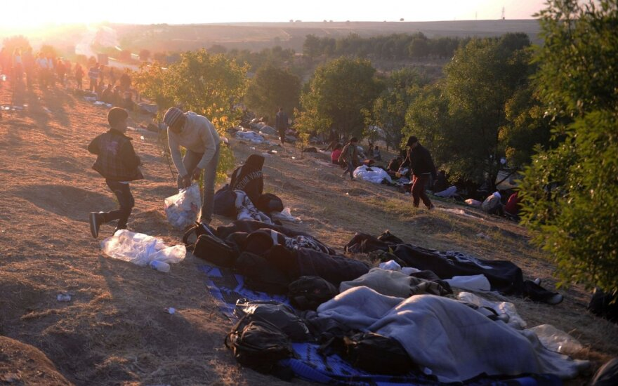 Smarkiai išaugo pabėgėlių skaičius į Europą Turkijos maršrutu