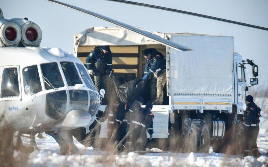 Liudininkai pasakoja apie siaubingus vaizdus Rusijos lėktuvo katastrofos vietoje