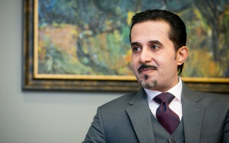 Lithuania's honorary consul to Saudi Arabia Mahfouz Marei Mubarak bin Mahfouz