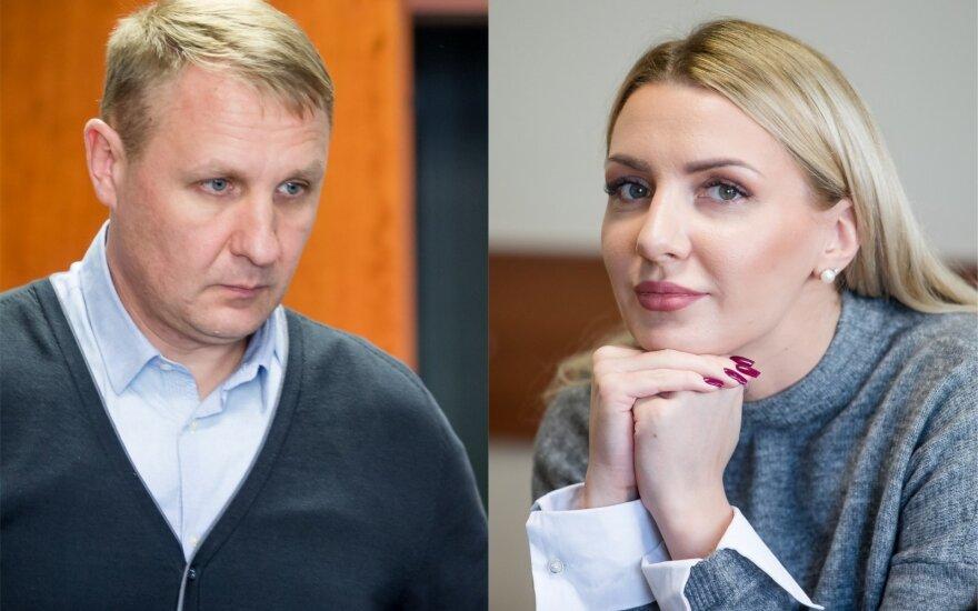 Andrius Šedžius, Monika Šedžiuvienė