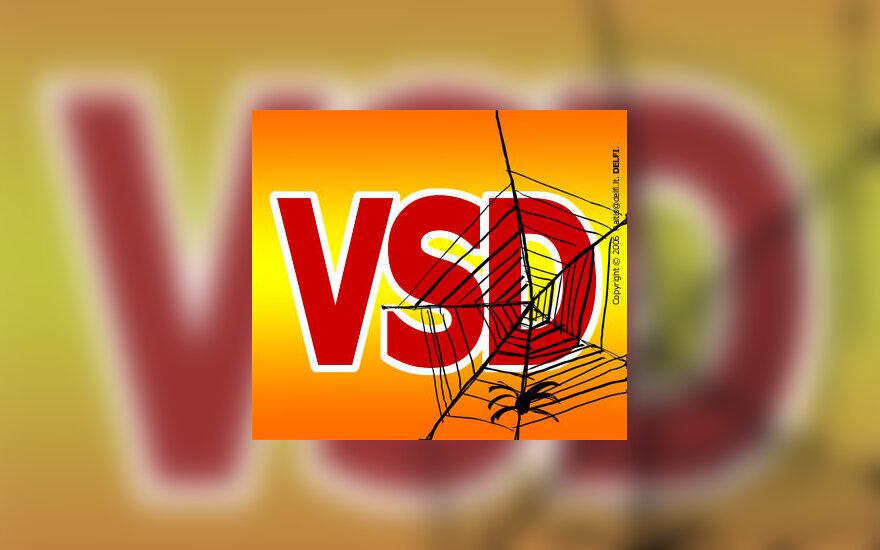 Valstybės saugumo departamentas (VSD) - karikatūra
