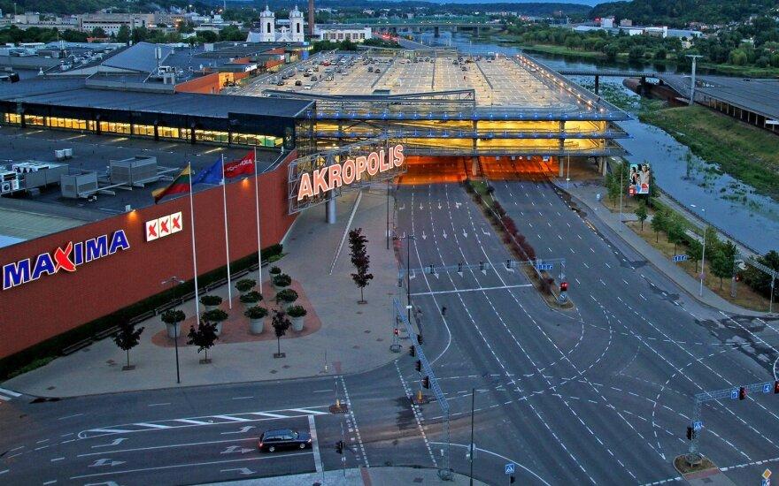 Prekybos centrai planuoja aktyvią plėtrą
