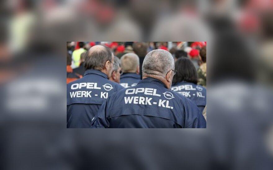 """""""General Motors"""" pažadai vokiečiams atrodo įtartini"""