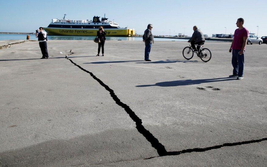 Žemės drebėjimas Graikijoje