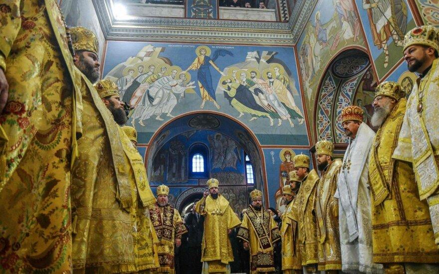 Rusijos stačiatikių patriarchas pyksta dėl Ukrainos bažnyčios atskilimo