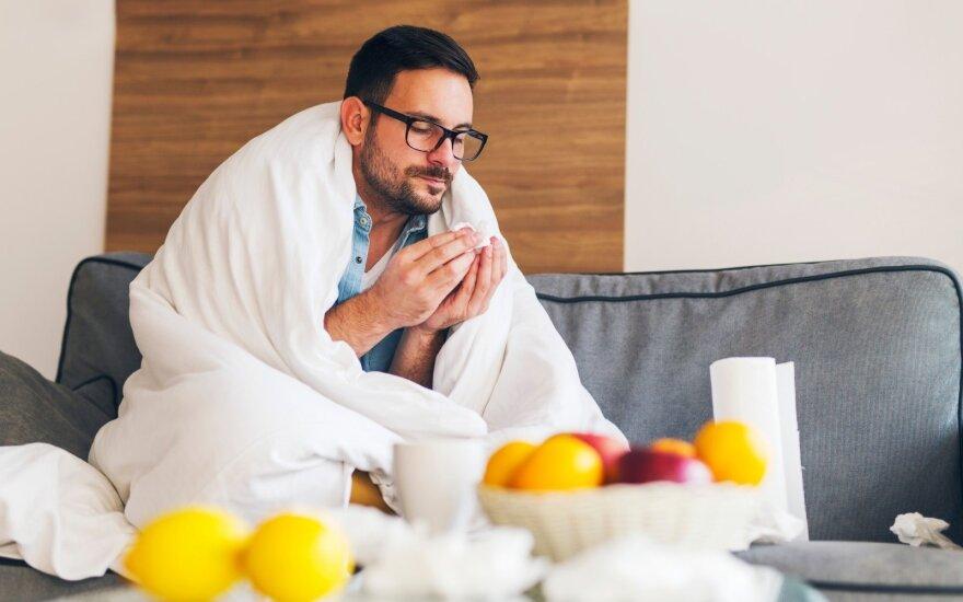 10 patarimų atmintinė, kaip nesusirgti šaltuoju metų laiku