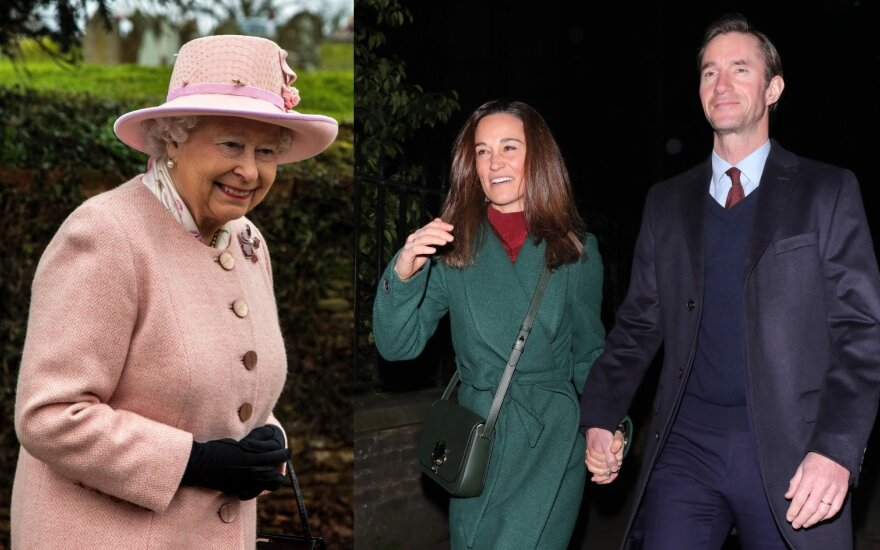 Karalienė Elizabeth II, Pippa Middleton su vyru