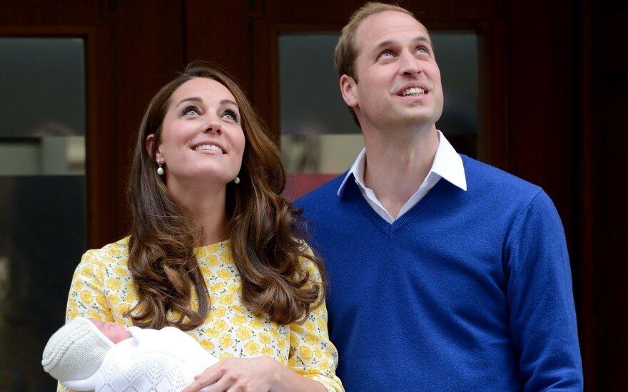 Kate Middleton ir princas Williamas laukia trečiosios atžalos