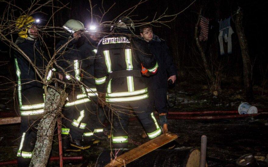 Vilniuje kilo pražūtingas gaisras