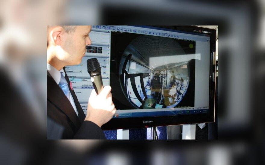 Sostinės troleibusuose – internetas ir stebėjimo kameros