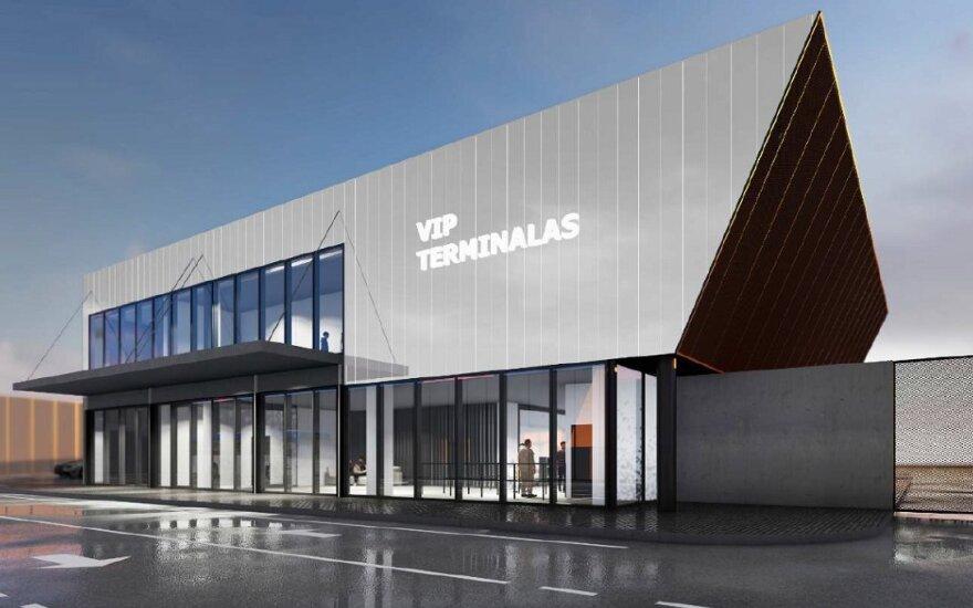 VIP terminalas su konferencijų centru Vilniaus oro uoste