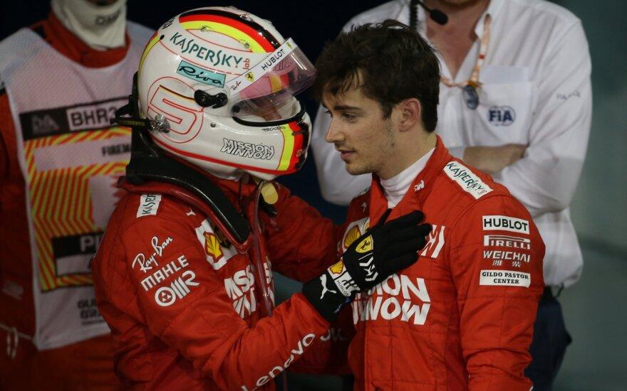 Sebastianas Vettelis, Charlesas Leclercas