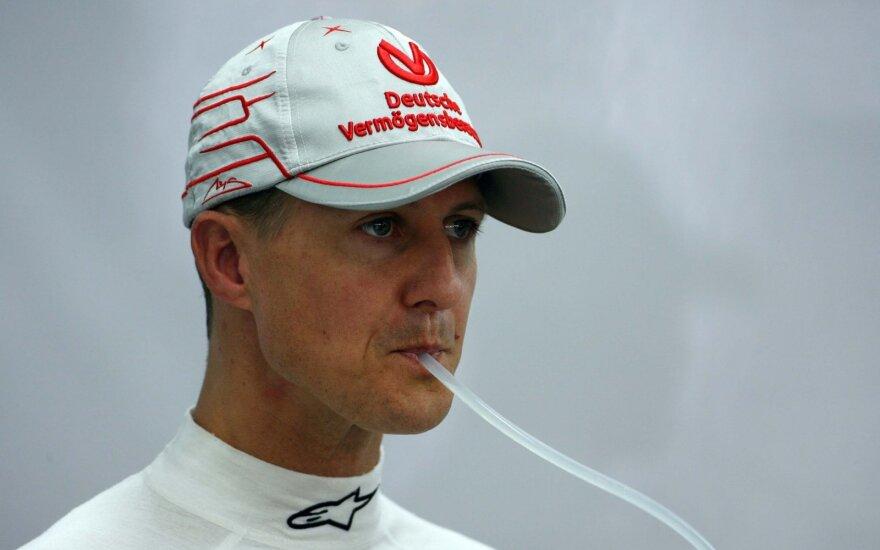 Žiniasklaida: Schumacheris atvežtas į Paryžiaus ligoninę