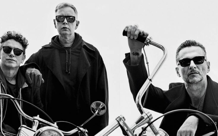 """Depeche Mode"" koncertų akimirkos"