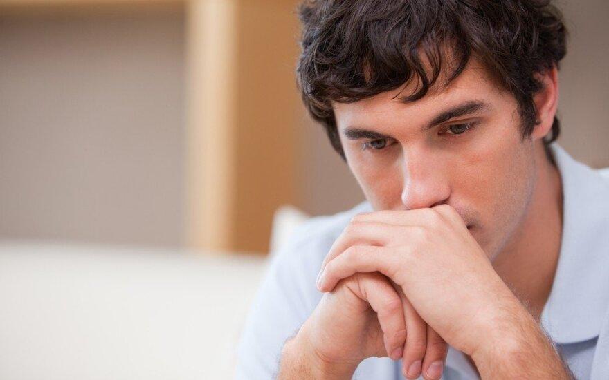 Savižudybės riziką parodo pokyčiai smegenyse