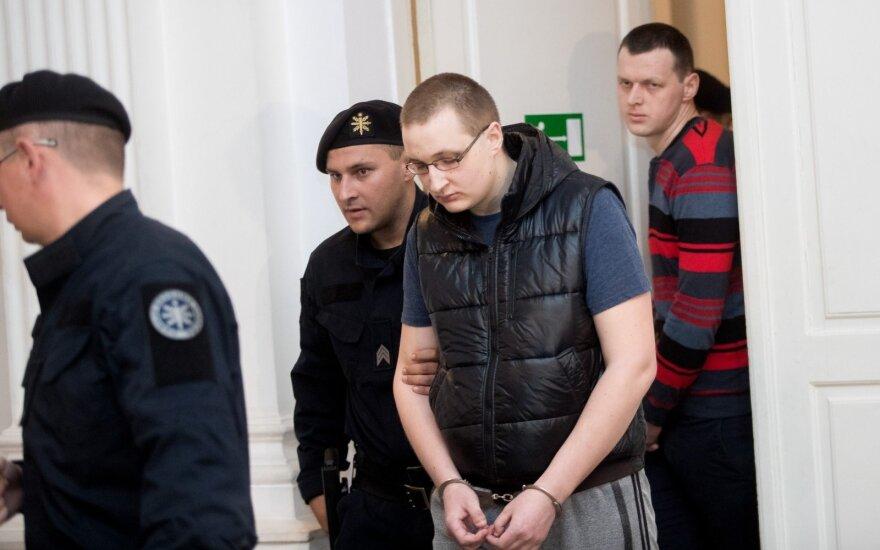 Sargo nužudymo byla netikėtai išsiplėtė: kaltinamieji vos tilpo salėje