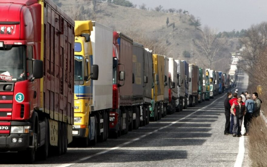 Stoja kroviniai į Rusiją