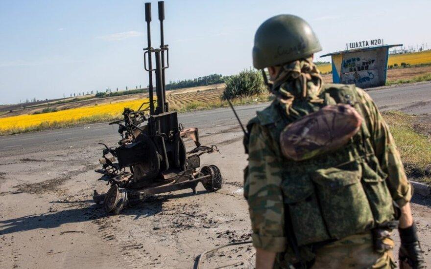 Pentagonas: prie Ukrainos sienos – kovoti parengti Rusijos kariai