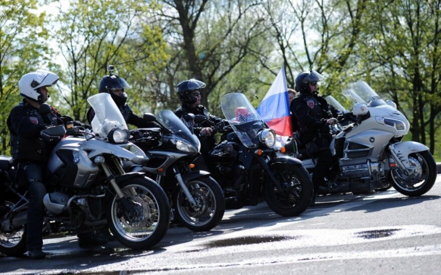 Lithuania refuses entry to 3 Russian bikers