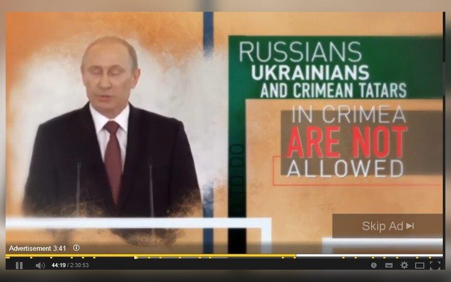 V. Putino propaganda Youtube