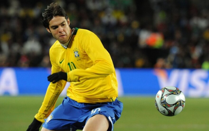 Kaka grįžta į Brazilijos futbolo rinktinę