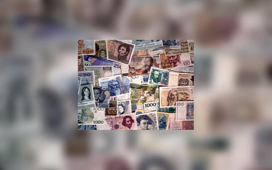 Vakarų Europos šalių banknotai