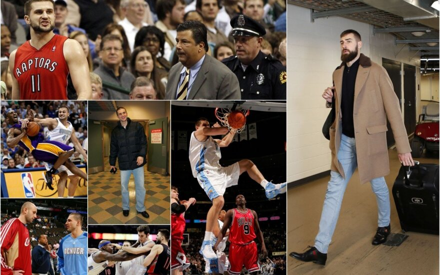 Tik nepradėti gailėtis savęs Valančiūną raginantis Kleiza: šiuolaikinėje NBA aš būčiau dar geresnis