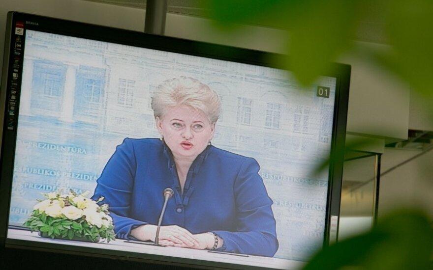 D.Grybauskaitė atskleidė, ką mano apie Visagino AE
