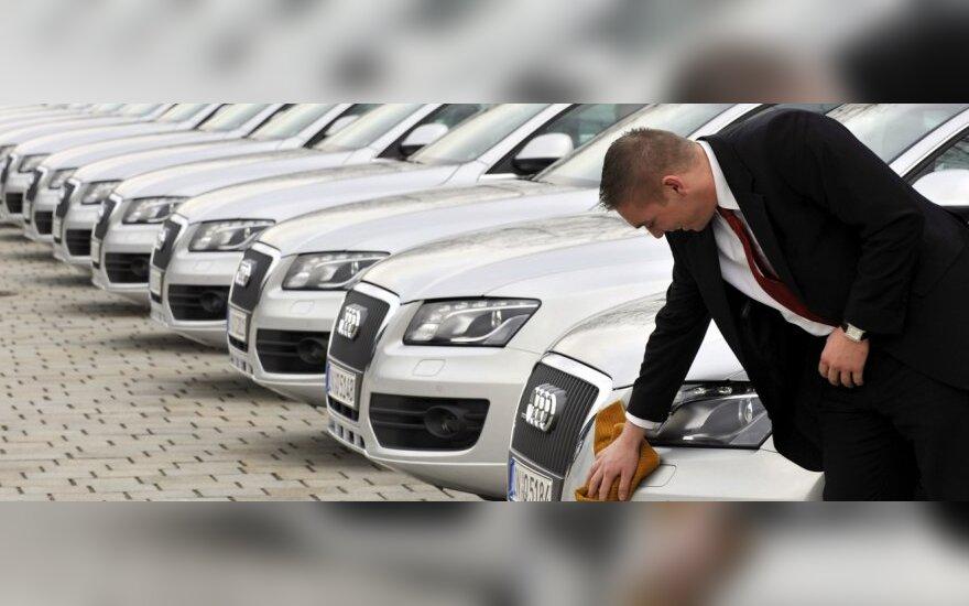 Vokietijoje automobilių pardavimai – prasčiausi per 20 m.
