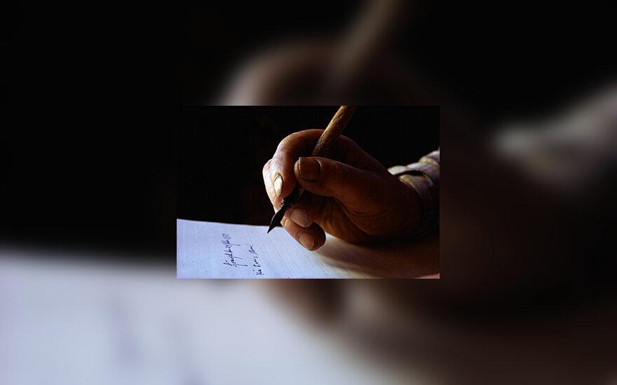 Raštas, rašyti, rašysena