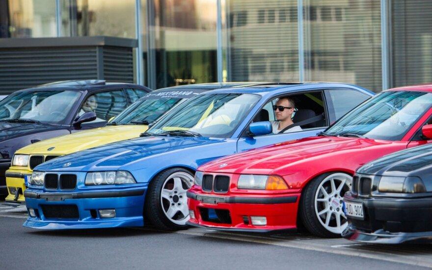 BMW E36 suvažiavimas