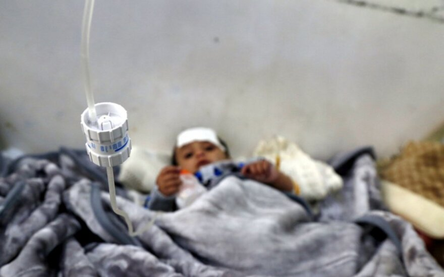 Badas Jemene kelia grėsmę 12 milijonų civilių