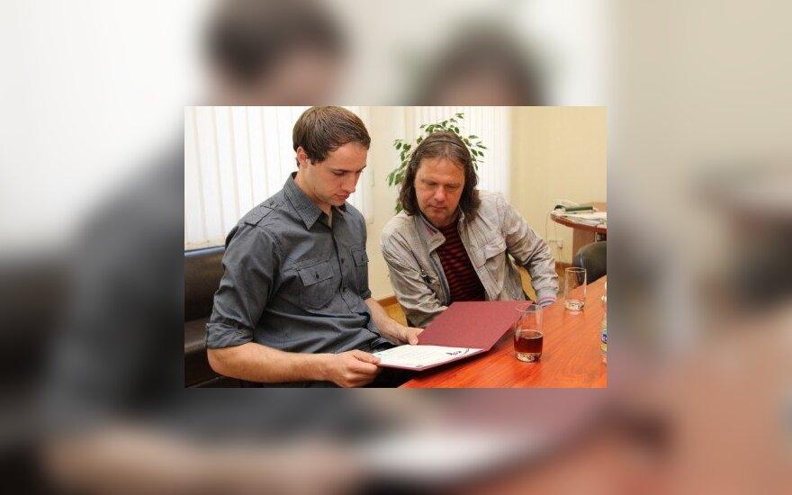 Tomas Viršilas ir Donatas Savickas