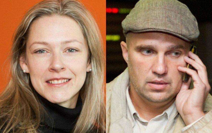 Gabija Ryškuvienė ir Linas Ryškus