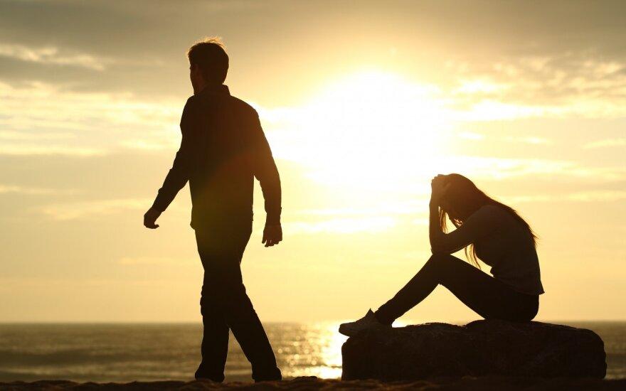 4 priežastys, kodėl vyras pabėga nuo moters