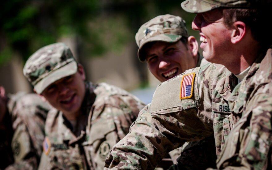 US soldiers will get to know Lithuania's geographical characteristics