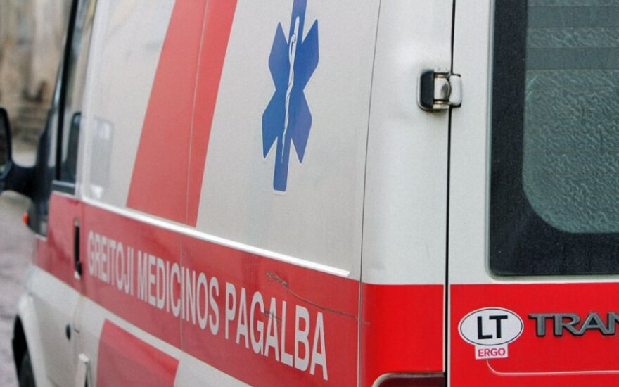Į ligoninę Klaipėdoje paguldyta serganti, sužalota mažametė