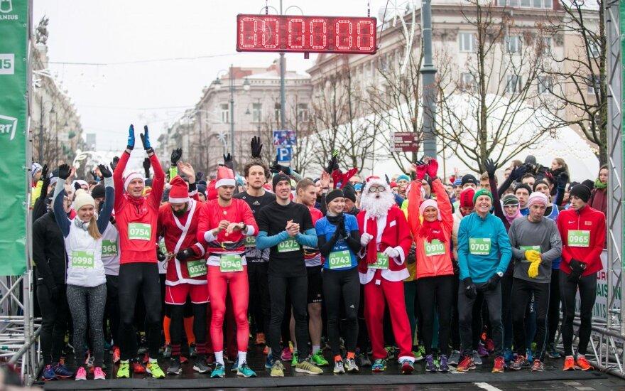 Sostinėje – rekordinis skaičius kostiumuotų bėgikų